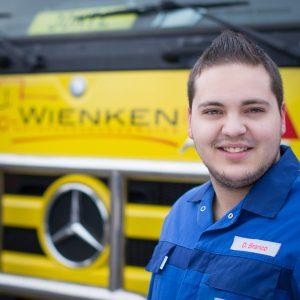 Dominik Branco - Mitarbeiter von Wienken Nutzfahrzeugservice in Brake, Nordenham und Varel
