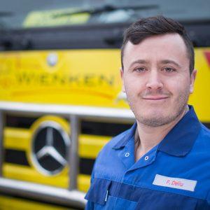 Florenc Deliu- - Mitarbeiter von Wienken Nutzfahrzeugservice in Brake, Nordenham und Varel