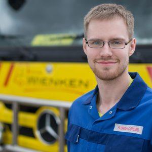 Florian Cordes - Mitarbeiter von Wienken Nutzfahrzeugservice in Brake, Nordenham und Varel