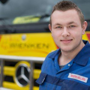 Hendrik Hellwig - Mitarbeiter von Wienken Nutzfahrzeugservice in Brake, Nordenham und Varel