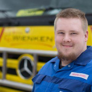Hendrik Janßen - Mitarbeiter von Wienken Nutzfahrzeugservice in Brake, Nordenham und Varel