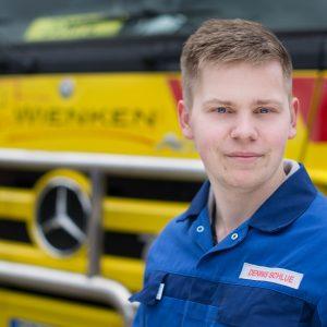 Dennis Schlue - Mitarbeiter von Wienken Nutzfahrzeugservice in Brake, Nordenham und Varel