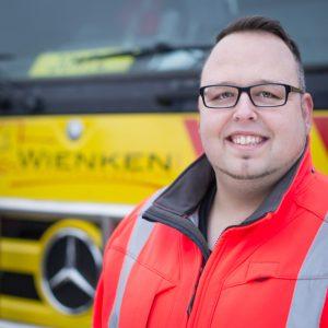 Dennis Wernicke - Mitarbeiter von Wienken Nutzfahrzeugservice in Brake, Nordenham und Varel