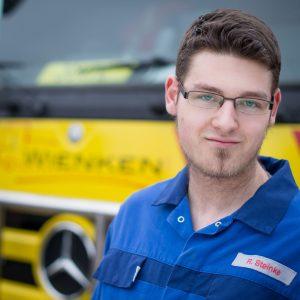 Rene-Malte Steinke - Mitarbeiter von Wienken Nutzfahrzeugservice in Brake, Nordenham und Varel