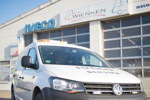 IVECO Nordenham - Servicefahrzeug von Wienken Nutzfahrzeugservice Wienken Nutzfahrzeugservice in Brake, Nordenham und Varel